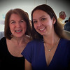 Nancy and Megan at Shirley's wedding reception (iPhone Photography)