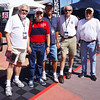 "Keith Aeschliman, Gary Greeson, Charles ""Butch"" Lee, Gary McKee and Ken Aeschliman at Barrett-Jackson Auto Auction, Orange County, CA"