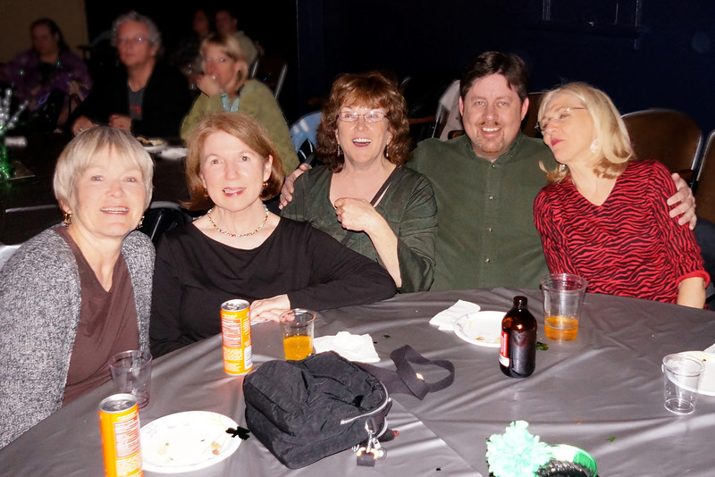 Vicki, Nancy, Berta, Patrick and Nancy - Dance (Fundraiser for Women's Shelter)