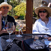 Madeline and Nancy - Wine tasting at Trium Winery