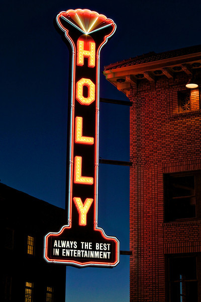 Restored Holly Theatre