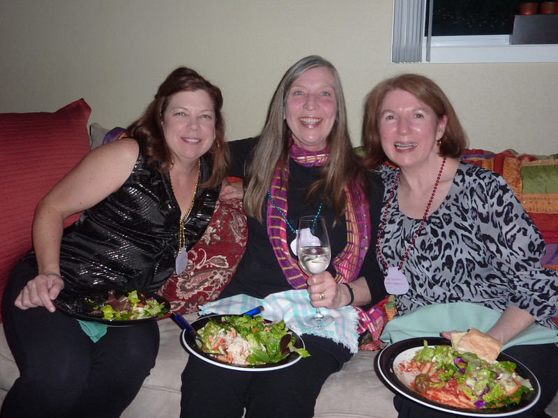 Diane, Colleen and Nancy  (Nancy's Birthday and Berta's Divorce Party)