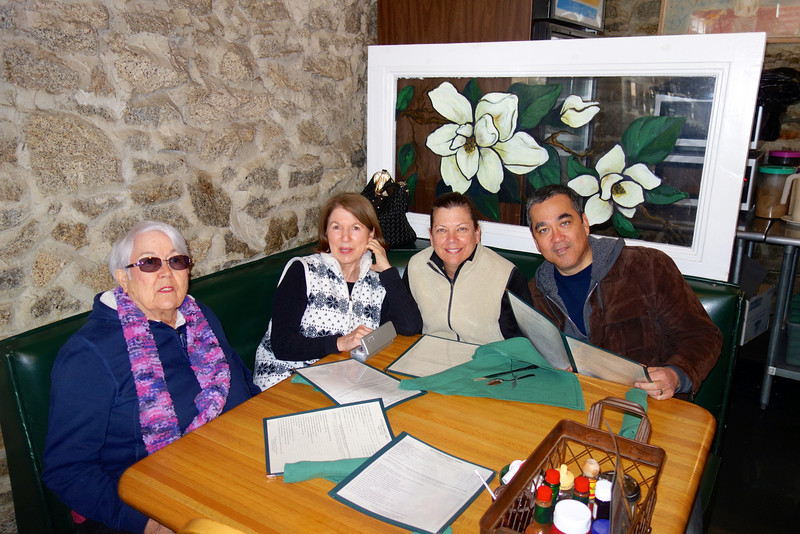 L to R: Trish, Nancy, Diane and Stephen