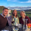 Nick Foster, Colleen Curran, Nancy Leonard at Belle Fiore Winery