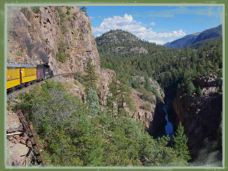 Words are not adequate for the Durango-Silverton train ride  2015