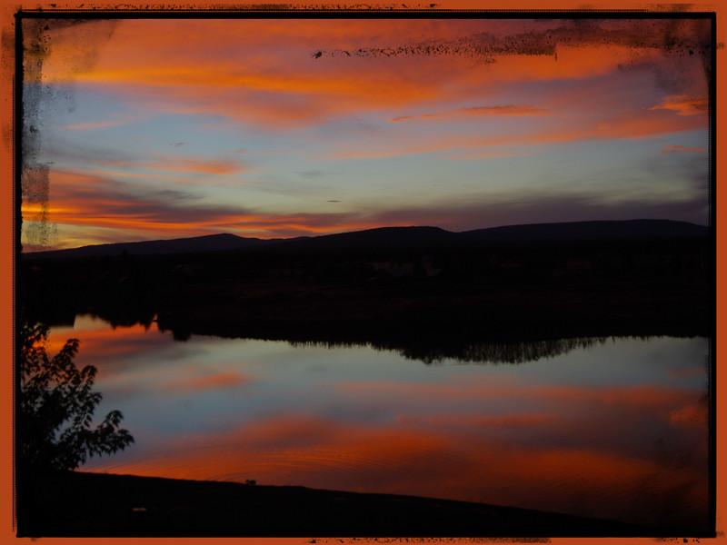 Sunset at Pagosa Springs - 2015