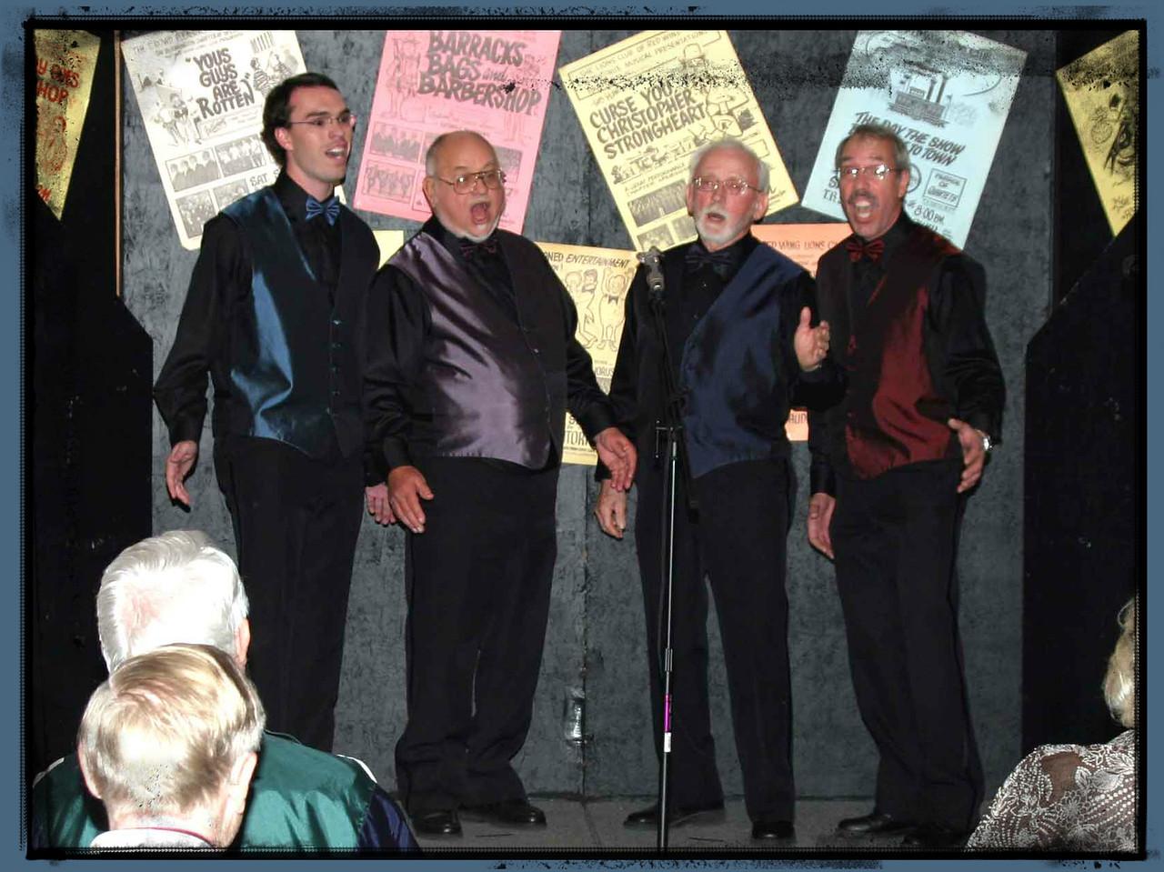 Wizards of Ahhhs Quartet (Bloomington Good Times Chorus) 2007