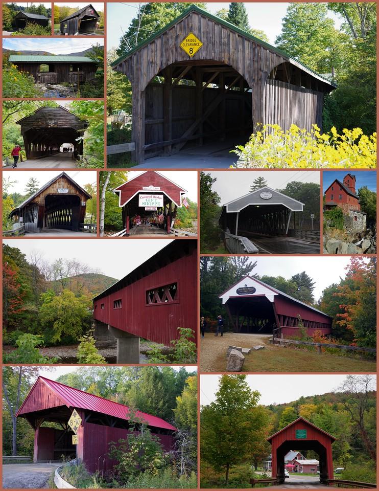 Bridges of Vermont & New Hampshire 2016