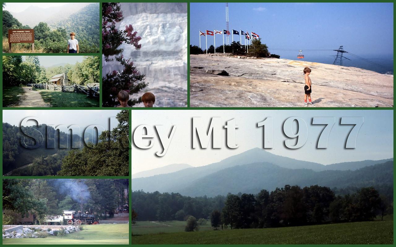 Great Smokey Mt Nat'l Park 1977, 1980, 2006