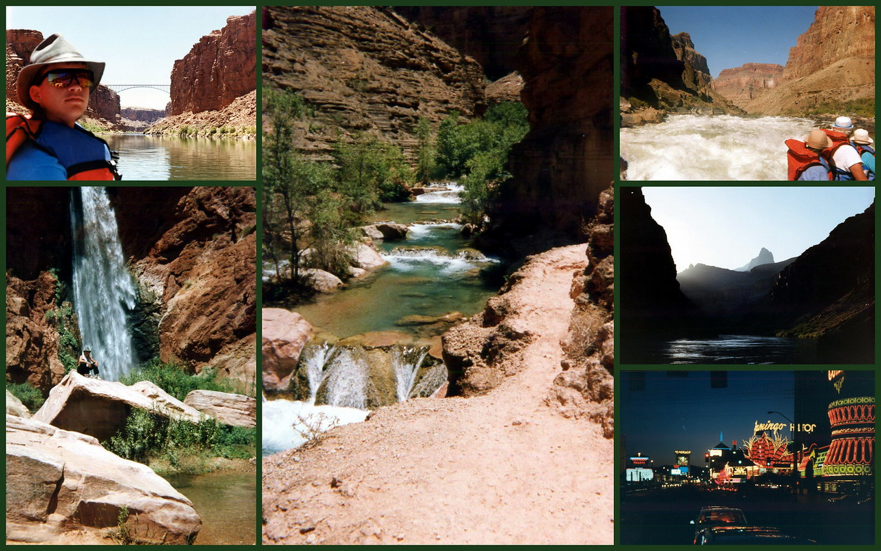 The adventure of a lifetime - floating the Colorado through the Grand Canyon