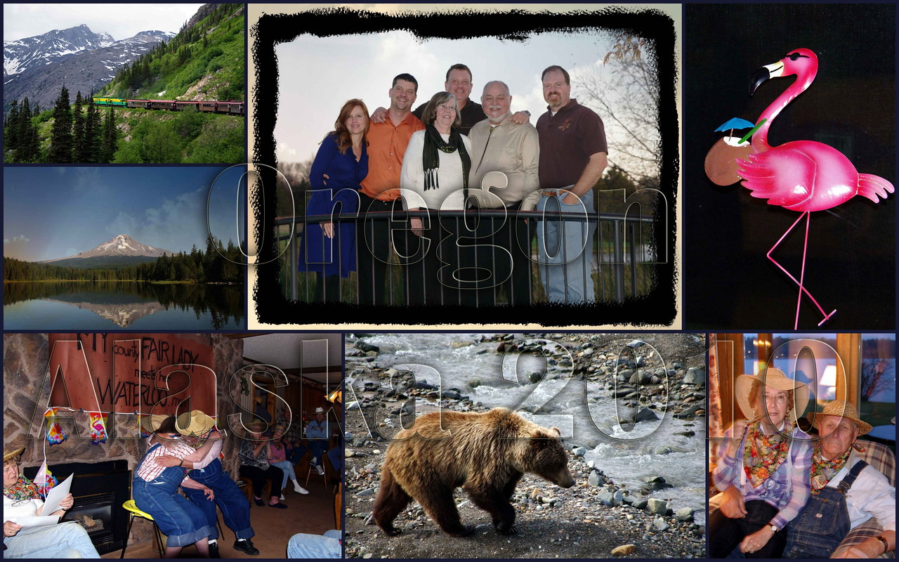 50 Years Together - A Special Year - Alaska, Oregon, Breezy Point 2010