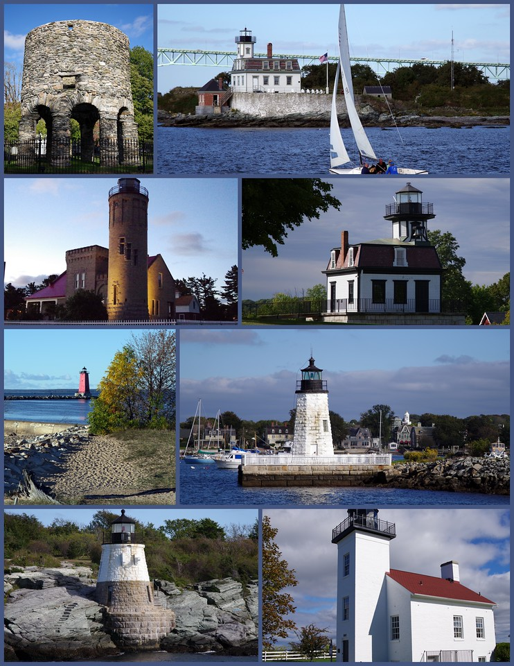Lighthouses of Newport (& Michigan) 2016
