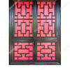 traditional chinese window isolated