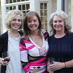 Susan Yarmuth, host Terri Bass and Cathy Yarmuth.