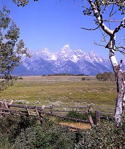 Grand Teton Mountain Range, WY