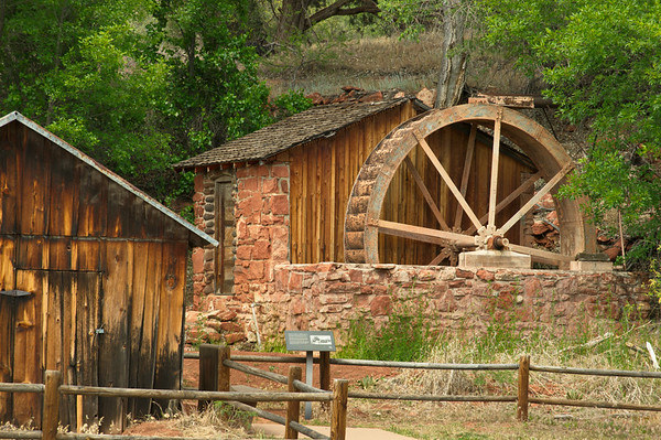 Water Mill at Red Rock Crossing