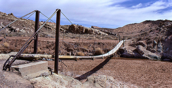 Old Footbridge to Delicate Arch, Arches National Park, UT