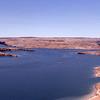 Lake Powell and Glenn Canyon Dam, AZ