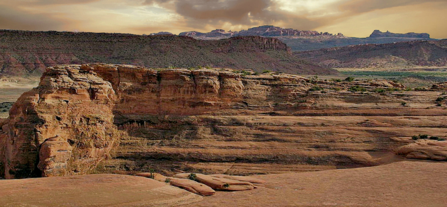 On The Way to Delicate Arch, Utah
