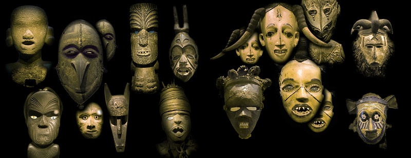 African and Oceanian masks