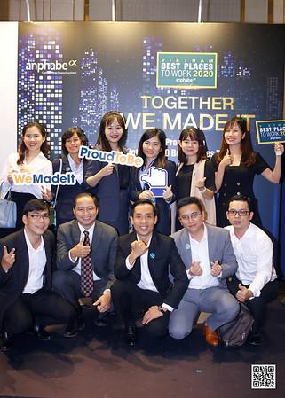anphabe   VIETNAM 100 BEST PLACES TO WORK 2020 instant print photobooth @ Vinpearl Luxury Landmark 81   Chụp ảnh in hình lấy liền tại TP Hồ Chí Minh   Photobooth Saigon