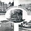 An0021 <br /> Een compilatiekaart met vijf afbeeldingen: Huize St. Bernardus; Ned.-herv. school aan de Jacoba van Beierenlaan; de ringvaart en Lisserdijk bij Kaag; Sassenheim-zuid; Ruïne van Teylingen. Foto's: jaren '50.