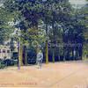 An0088 <br /> Links 'Villa Nella', gebouwd in 1881 door J. Kruijff, genoemd naar zijn echtgenote. K.Klijn gaf er de naam 'Vredesteyn' aan. Thans in gebruik als gezinsvervangend tehuis. Foto: ca 1910.