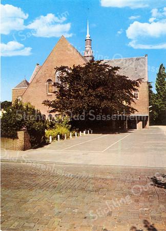An0029 <br /> Gereformeerde kerk (Julianakerk) in de Julianalaan. Gebouwd in 1911, architect Th. Anema. Verbouwd in 1929, architect Boeijinga. Foto: jaren '70.