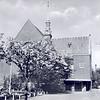 An0001 <br /> Gereformeerde kerk in de Julianalaan, gebouwd in 1911 door architect Th. Anema. Verbouwd in 1929 door architect Boeijinga. Foto: begin jaren '60.