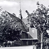 An0003 <br /> Gereformeerde kerk in Julianalaan, gebouwd in 1911, architect Th. Anema. Verbouwd in 1929, architect Boeijinga. Foto: begin jaren '60.