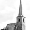 An0057 <br /> Ned. Herv. kerk. De toren is gerestaureerd, zie ook 0056 An. De foto is gedateerd nà 1958, maar voor 1971. Toen werd het kerkgebouw vernieuwd. De gotische ramen zijn hier nog aanwezig. Later zijn deze vervangen door kleine Romaanse ramen. Foto: 1958-1971