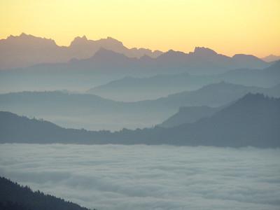 Rigi Sonnenaufgang