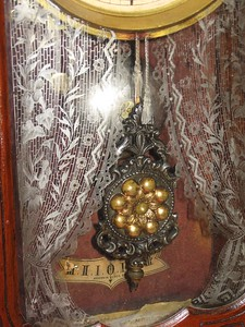 Glass with nice lacework design