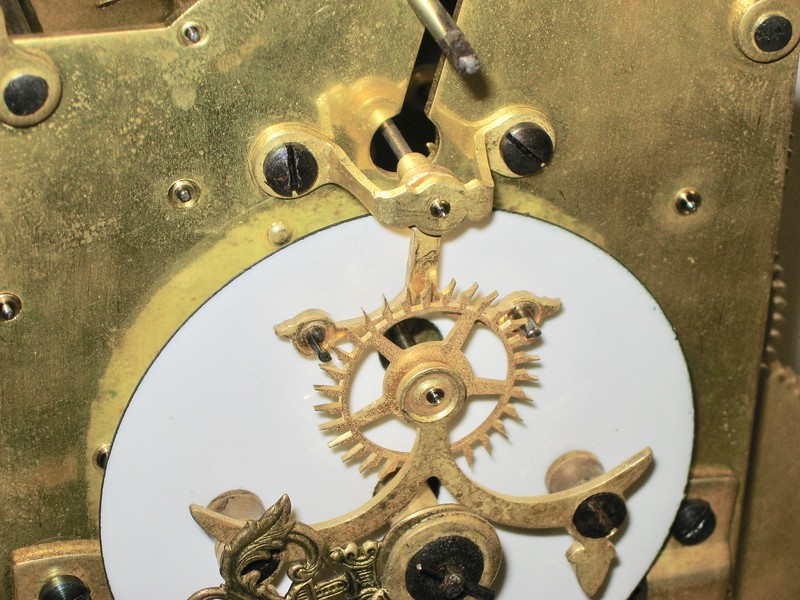 The Brocot or pin-pallet visible escapement