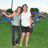 Nicole and Lori ready to rip it up. Danced all night barefoot on the luscious green grass of Yucca Valley Community Center.