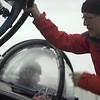 Imágenes de la inmersión en submarino de Javier Bardem al océano Antártico
