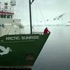 Javier y Carlos Bardem durante el tour al Santuario del Océano Antártico