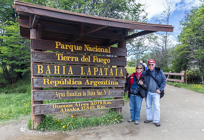 Tierra del Fuego National Park near Ushuaia, Argentina - the southernmost city in the world.