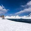 Half Moon Island, north of Burgas Peninsula on Livingston Island in the South Shetland Islands, Antarctica.
