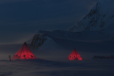 Stormy Camp, Adelaide Island, Antarctica