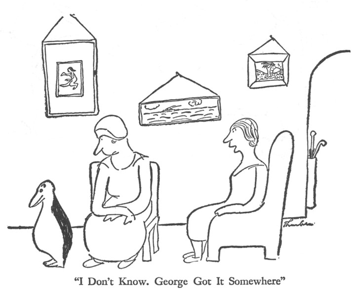 By James Thurber