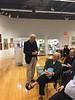 My talk at Bonhams, New York City, September 24, 2018. Joe and Beth Fitzsimmons and some of Tom Lamb.