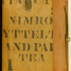 Inner bottom board. From Sotheby's website. Brooke-Hitching copy. Copy 112.