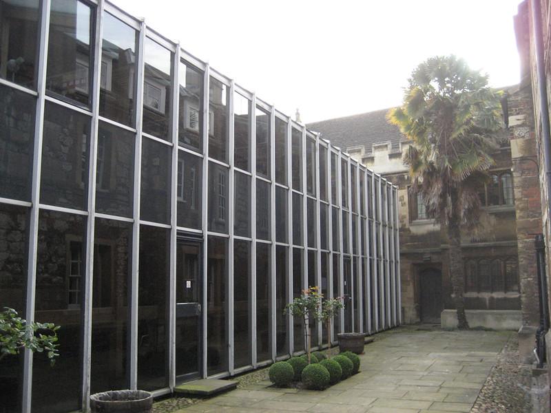 The Library. Christ's College Cambridge. Copy 11.