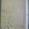 15. Inner top board with stenciling. National Maritime Museum. (Dawson-Lambton copy).