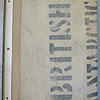 Inner bottom board with stenciling. National Maritime Museum (Dawson-Lambton copy). Copy 15.