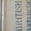 15. Inner bottom board with stenciling. National Maritime Museum (Dawson-Lambton copy).