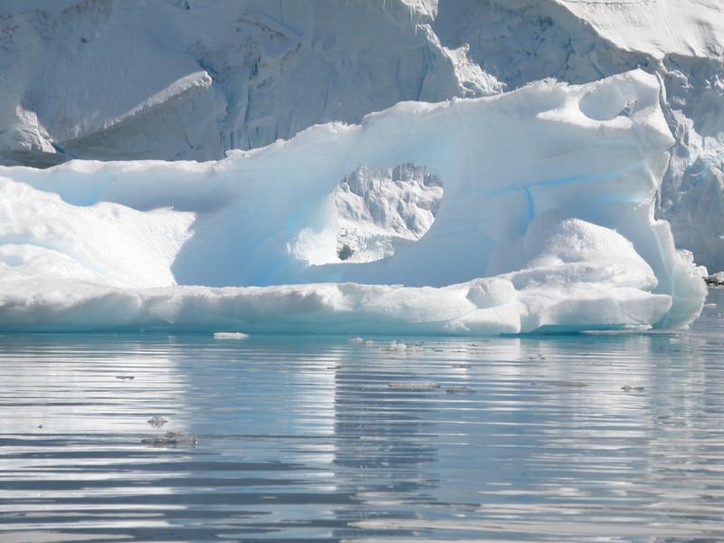 Icicle iceberg
