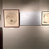 University Museum. Two maps, one from Thomson's Atlas, the other Polus Antarcticus, Hondius, 17th century. In the center is a timeline of Antarctic exploration. January 26, 2018.