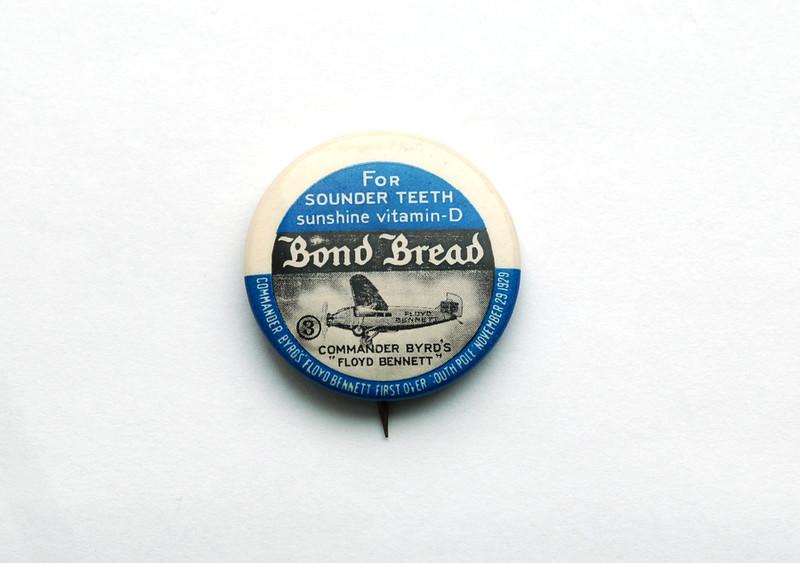 Byrd pin.  Photo by UNH.